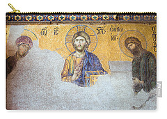 Deesis Mosaic Of Jesus Christ Carry-all Pouch