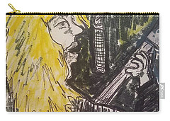 Def Leppard Love Bites Carry-all Pouch by Geraldine Myszenski