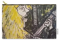 Def Leppard Love Bites Carry-all Pouch by Geraldine Myszenski