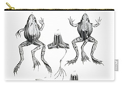 Deformed Frogs Carry-all Pouch