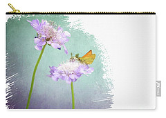 Delaware Skipper Carry-all Pouch by Suzanne Handel