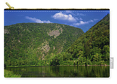 Carry-all Pouch featuring the photograph Delaware Water Gap From New Jersey by Raymond Salani III