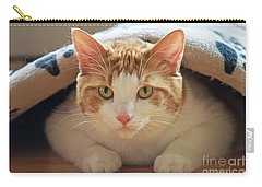 Carry-all Pouch featuring the photograph Delectable Companion.. by Nina Stavlund