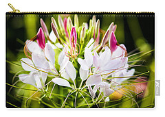 Carry-all Pouch featuring the photograph Delicacy by Marilyn Hunt