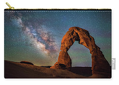 Carry-all Pouch featuring the photograph Delicate Air Glow by Darren White