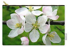 Delicate Apple Blossoms Carry-all Pouch
