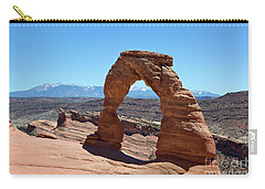 Delicate Arch Arches National Park Carry-all Pouch