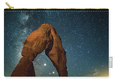 Delicate Arch Moonset Carry-all Pouch