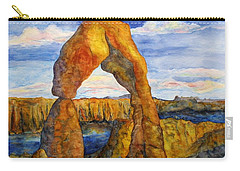 Delicate Arch Carry-all Pouch by Patricia Beebe
