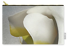 Delicate As Egg Yolk Carry-all Pouch by Sherry Hallemeier