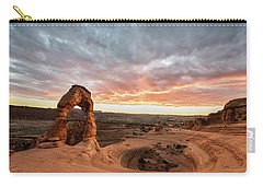Delicate At Sunset Carry-all Pouch