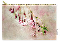Carry-all Pouch featuring the photograph Delicate Bloom by Jessica Jenney