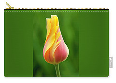 Delicate Folds Of A Tulip Carry-all Pouch