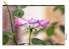 Carry-all Pouch featuring the photograph Delicate by Joan Bertucci