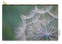 Carry-all Pouch featuring the photograph Delicate Seeds by Amee Cave
