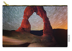 Carry-all Pouch featuring the photograph Delicate Spin by Darren White