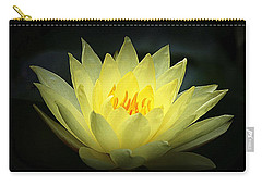 Delicate Water Lily Carry-all Pouch