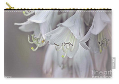 Delicate White Flowers Carry-all Pouch
