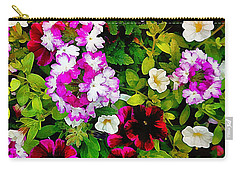 Delicious Floral Foray Carry-all Pouch