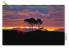 Carry-all Pouch featuring the photograph Delightful Awakenings by Az Jackson
