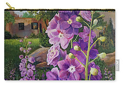 Delightful Delphiniums Carry-all Pouch