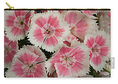 Carry-all Pouch featuring the photograph Delightful Dianthus by Jean Noren