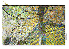 Carry-all Pouch featuring the mixed media Deliverance by Tony Rubino