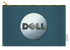 Dell T-shirt Carry-all Pouch by Herb Strobino