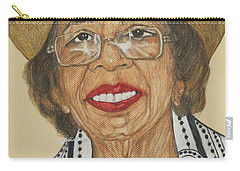 Della Willis Portrait Carry-all Pouch