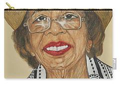 Della Willis Portrait Carry-all Pouch