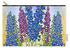 Delphinium Blue Carry-all Pouch