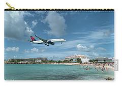 Delta 757 Landing At St. Maarten Carry-all Pouch