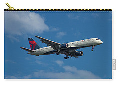 Delta Air Lines 757 Airplane N668dn Carry-all Pouch