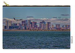 Delta Airlines Lands In Boston Carry-all Pouch