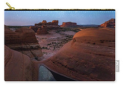 Carry-all Pouch featuring the photograph Delta Night by Dustin LeFevre
