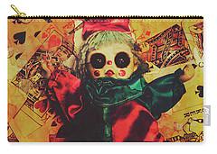 Demonic Possessed Joker Doll Carry-all Pouch