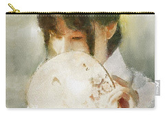 Carry-all Pouch featuring the digital art Demure by Greg Collins