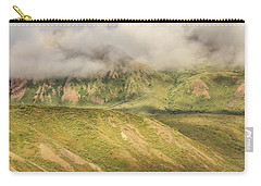Denali National Park Mountain Under Clouds Carry-all Pouch