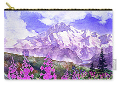 Denali With Fireweed Carry-all Pouch