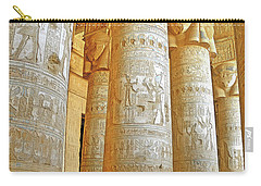 Dendera Temple Carry-all Pouch by Nigel Fletcher-Jones
