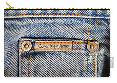 Denim 6 Carry-all Pouch