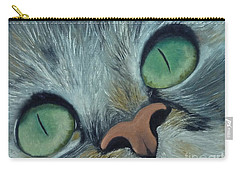 Denise's Cat Jasmine Carry-all Pouch