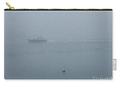 Dense Fog On The Bay Carry-all Pouch