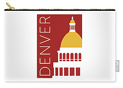 Denver Capitol/maroon Carry-all Pouch