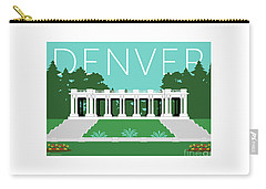 Denver Cheesman Park/lt Blue Carry-all Pouch