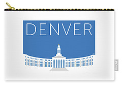 Denver City And County Bldg/blue Carry-all Pouch