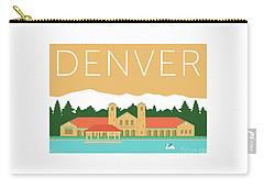 Denver City Park/adobe Carry-all Pouch