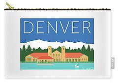 Denver City Park/blue Carry-all Pouch