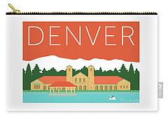 Denver City Park/coral Carry-all Pouch