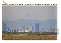 Denver Colorado Pretty Bird Fly By Carry-all Pouch by James BO Insogna